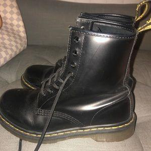 1460 Black Dr Marten Boots Size US 7